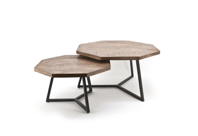 By-Boo Coffeetable set Octagon