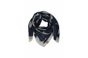 frivole sjaal nachtblauw