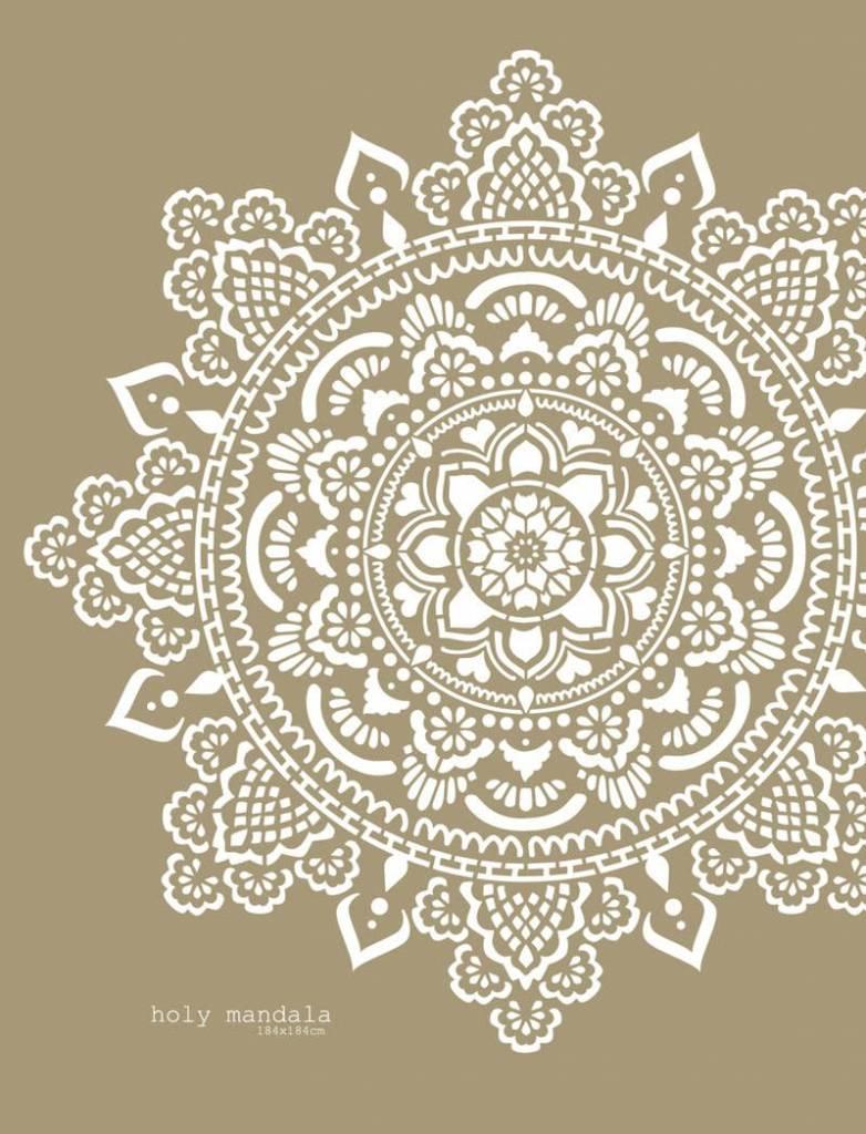 Mandala Stencils Holy mandala sjabloon 184 x 184 cm