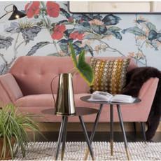 Dutchbone Kate sofa Pink Clay