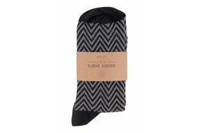 sjieke sokken antracietgrijs