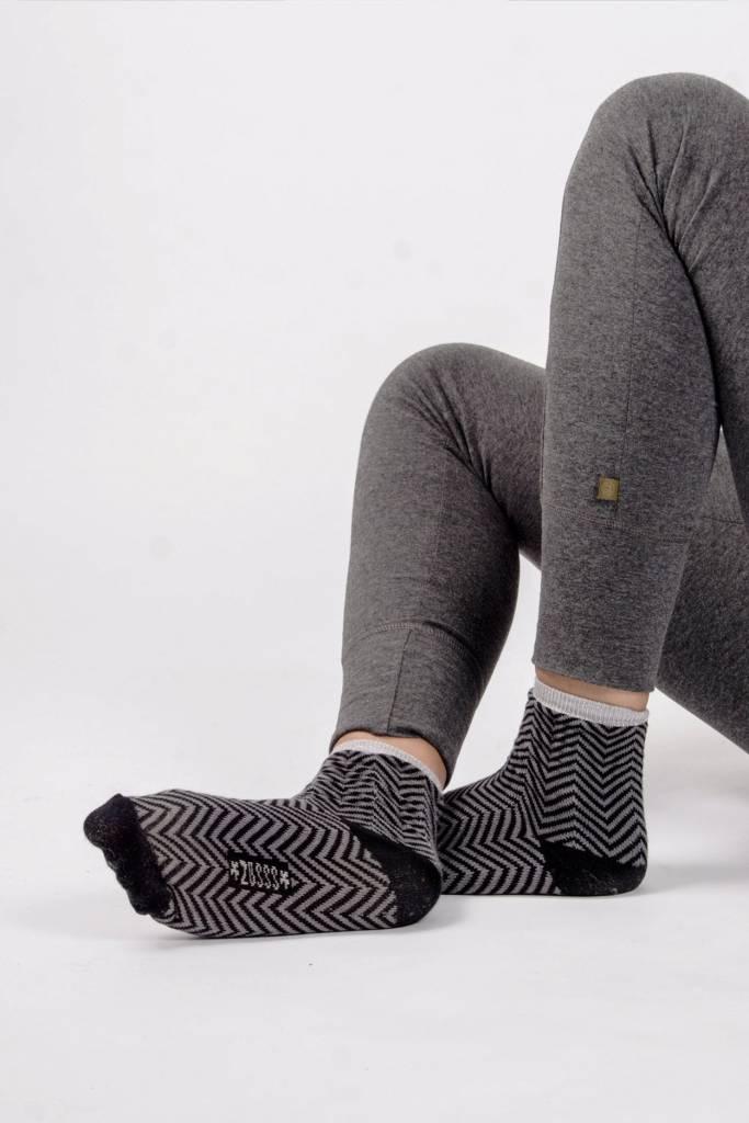 Zusss sjieke sokken antracietgrijs