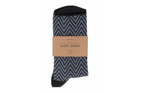 sjieke sokken nachtblauw