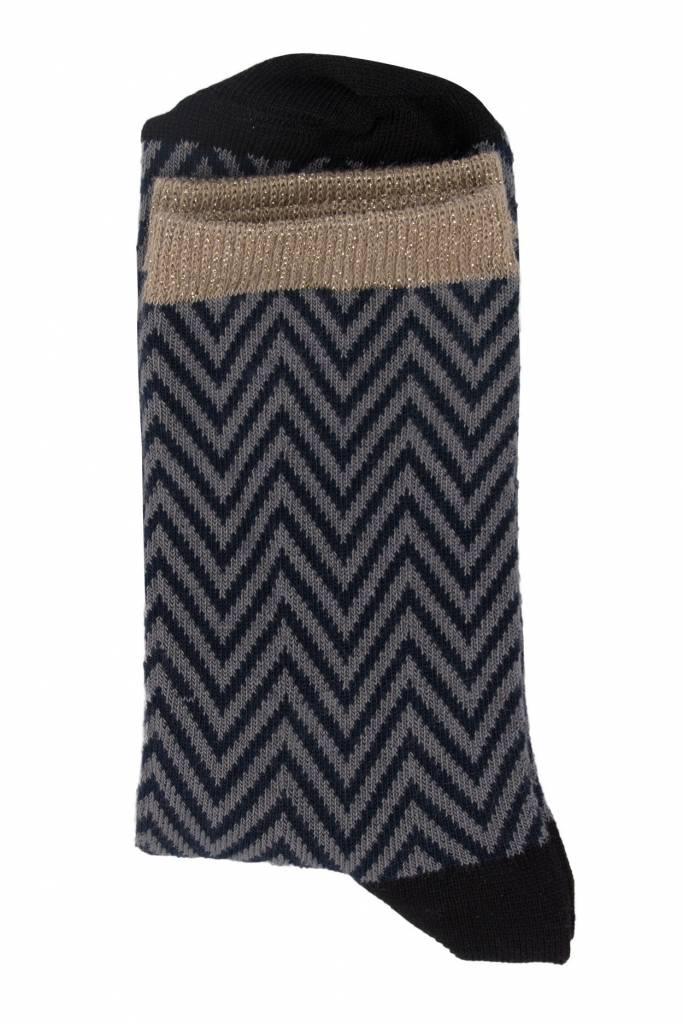 Zusss sjieke sokken nachtblauw