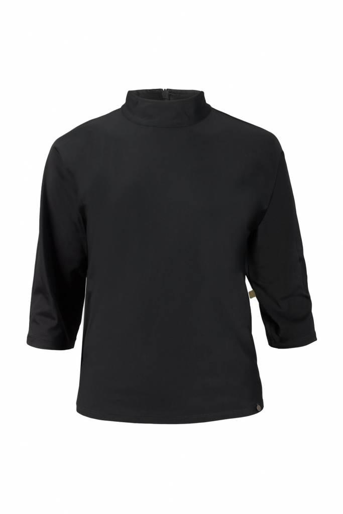 Zusss sjieke top met turtleneck zwart