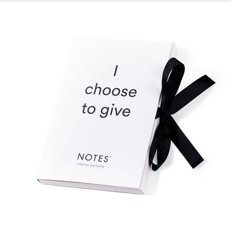 Notes Gift Envelope voor geurzakje