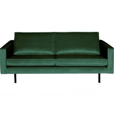BePureHome Rodeo Bank 2,5-zits Velvet green forest
