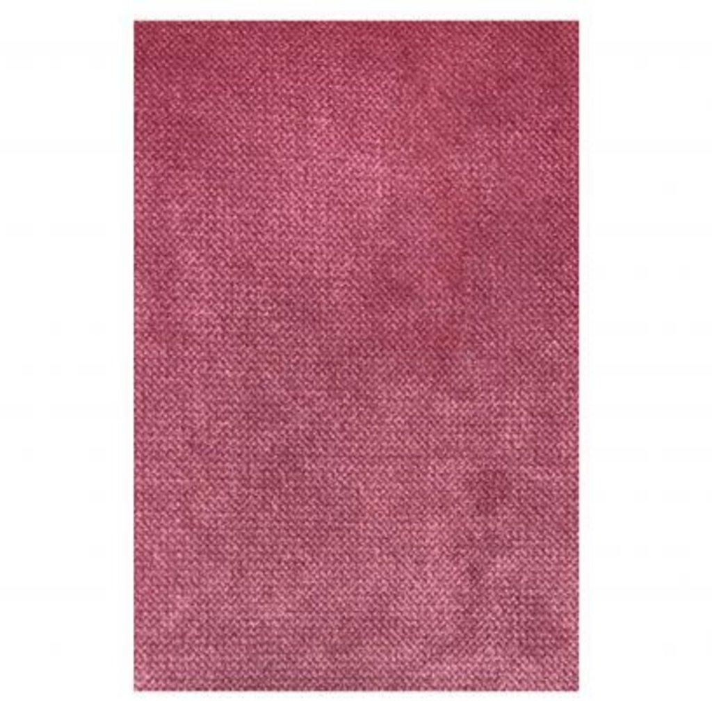 BePureHome Rodeo hocker op poten velvet pink