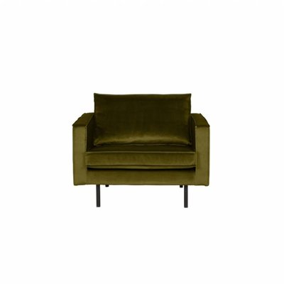 BePureHome Rodeo Fauteuil Velvet Olive