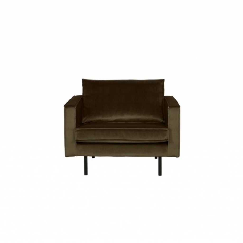 BePureHome Rodeo Fauteuil Hunter Green