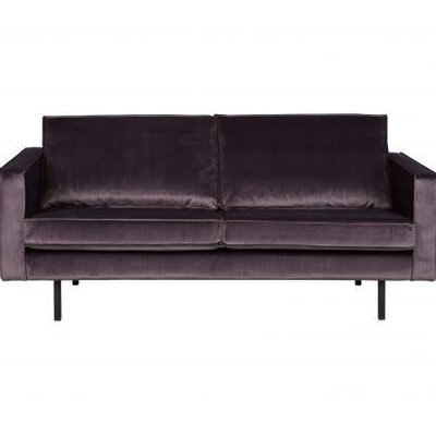 BePureHome Rodeo Bank 2,5-zits Velvet Grijs
