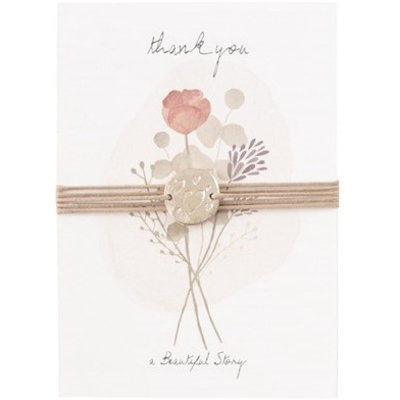 a Beautiful Story JP00026 - Jewelry postcard Flowers