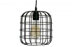 Lotus hanglamp zwart 20x20x20