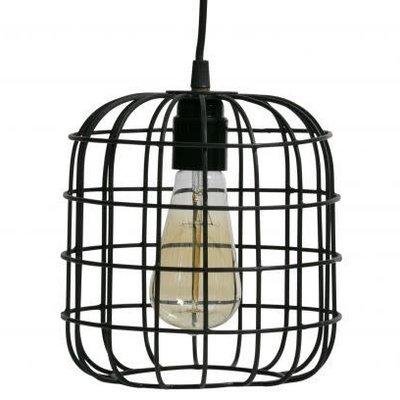 WOOOD Lotus hanglamp zwart 20x20x20