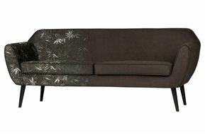 Rocco sofa 187 cm fluweel bamboe print