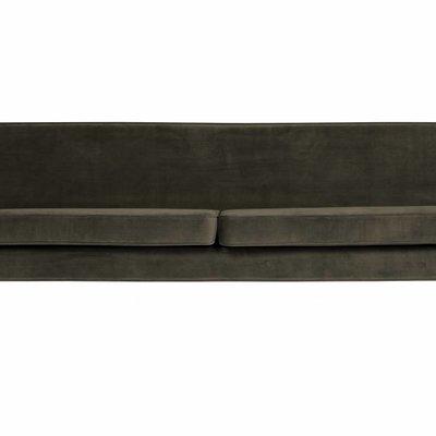 WOOOD Rocco xl sofa 230 cm fluweel warm groen