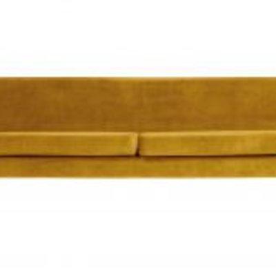 WOOOD Rocco xl sofa 230 cm fluweel oker