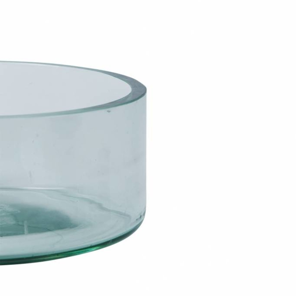 Zusss Schaal gerecycled glas transparant