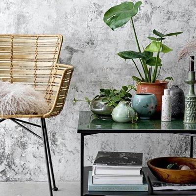 Bene Coffee Table, green, metal