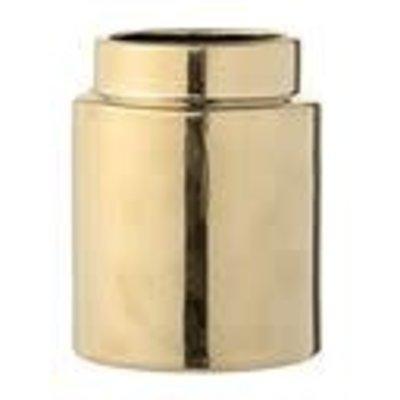Vase, Gold, aardewerk