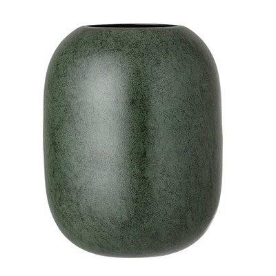 Vase green, metaal