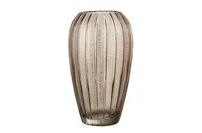 Vase brown, glas