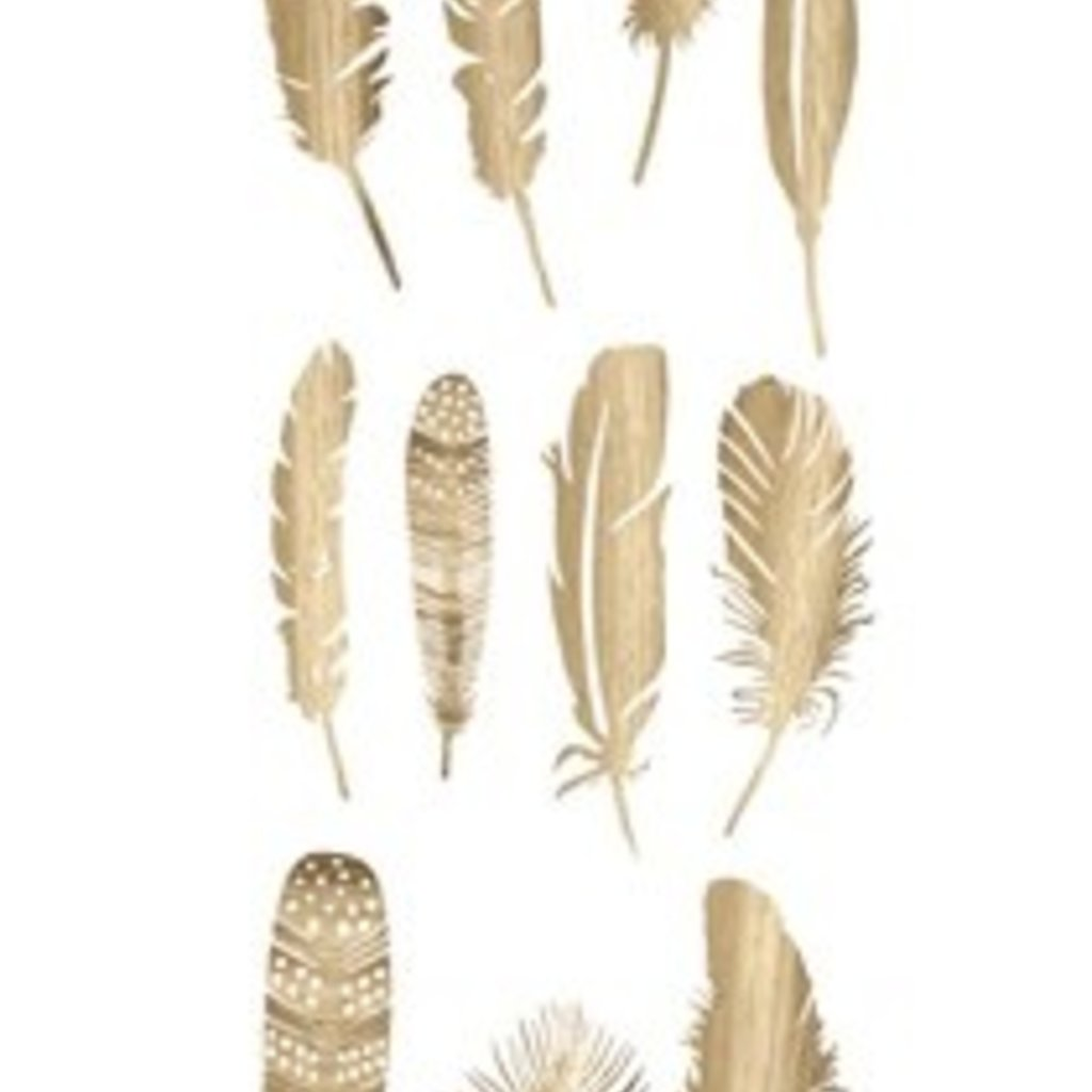 Chateau Deco Feather, gold