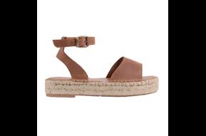 Te gekke sandalen bruin