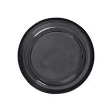 Zusss Schaal gerecycled glas zwart