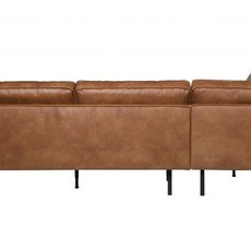BePureHome Rodeo hoekbank links - Cognac