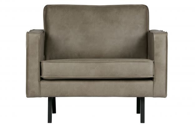 BePureHome Rodeo fauteuil - Elephant skin