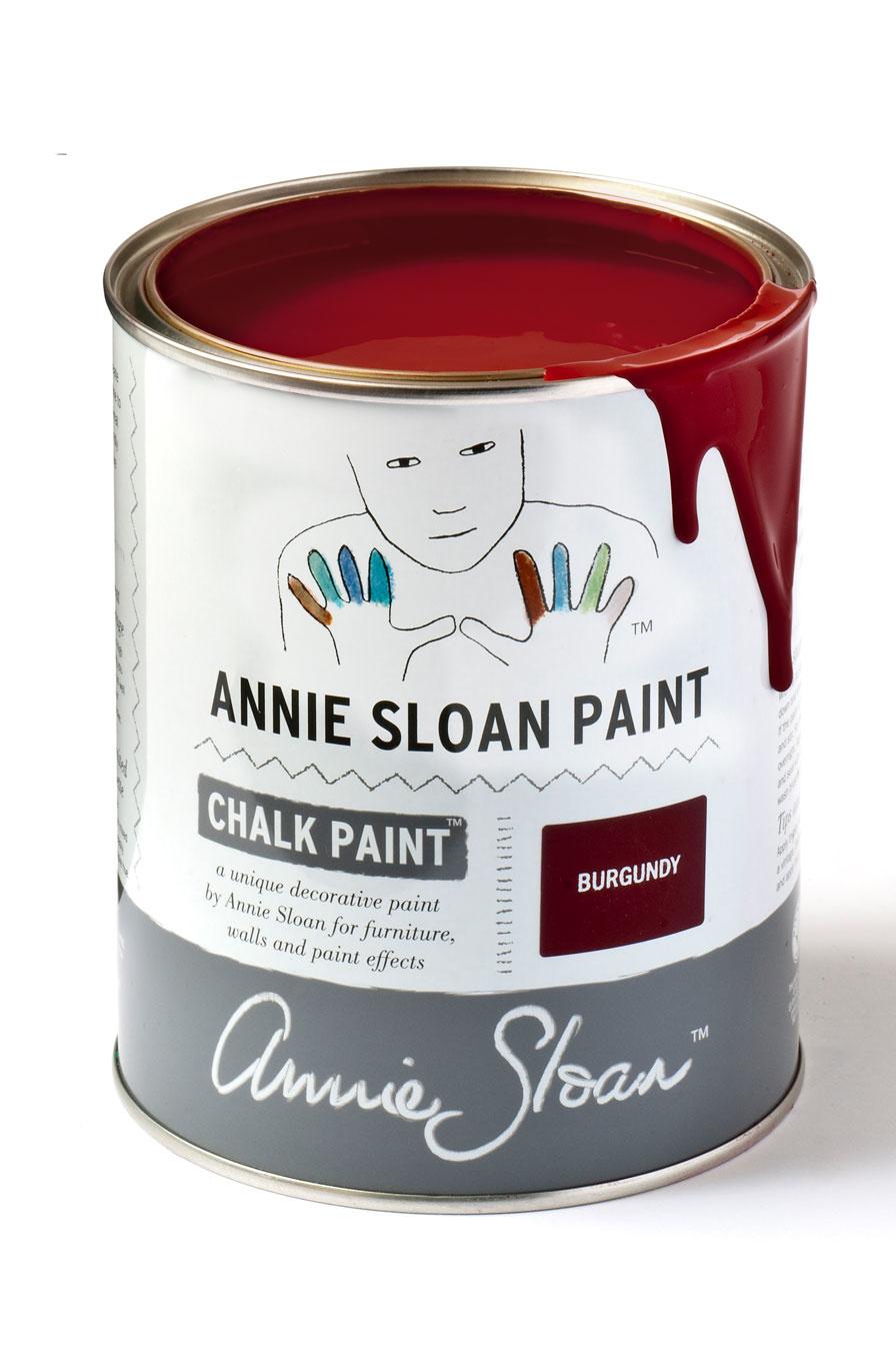 Annie Sloan Burgundy 1l - 250ml - 120ml