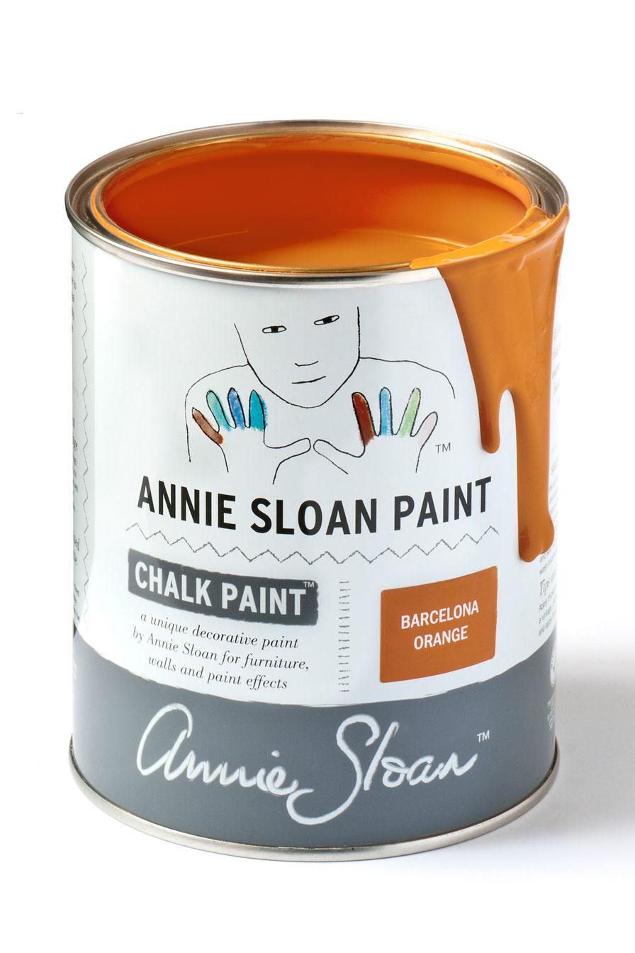 Annie Sloan Barcelona Orange 1l - 250ml - 120ml