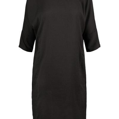 Zusss Hip frivool jurkje - Zwart