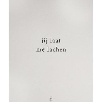 A3 poster lachen