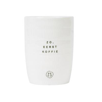 koffiemok eerst koffie