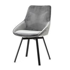 By-Boo Beau Grey Chair (draai)