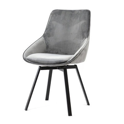 By-Boo Beau Grey Chair (draai)