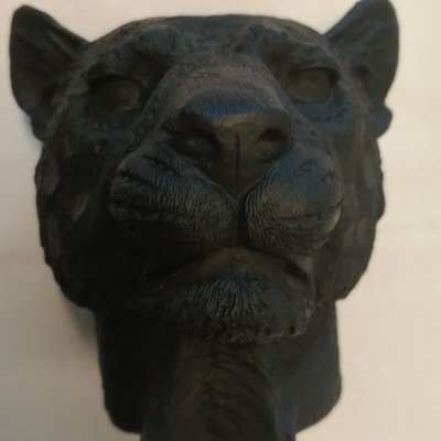 Housevitamin Candleholder Leopard Black