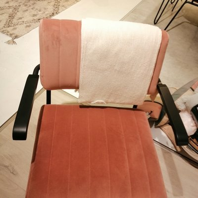 By-Boo Lounge Chair Operator Old Pink