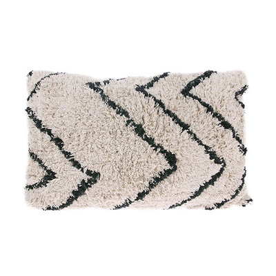 HKliving cotton zigzag cushion