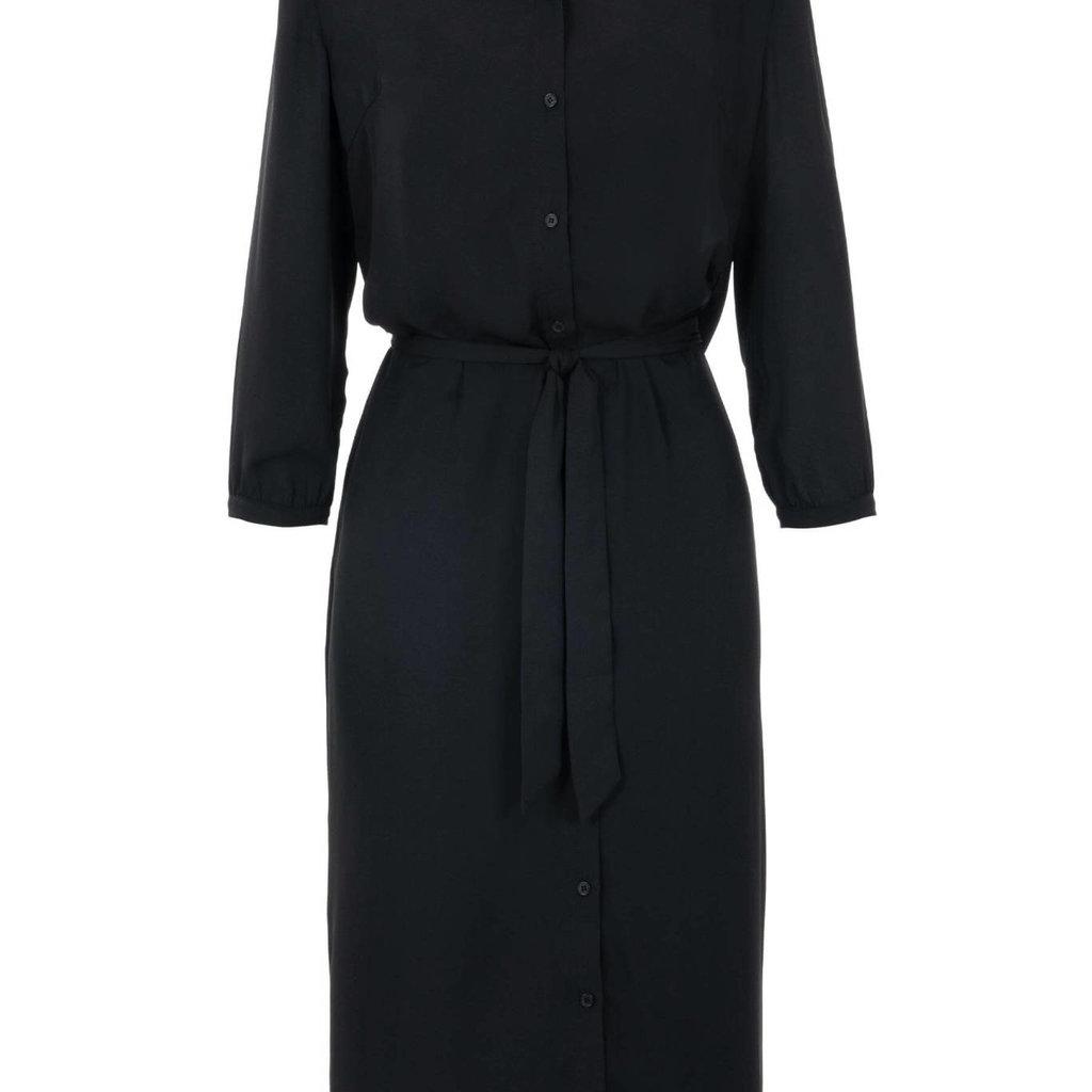 Zusss leuke lange jurk zwart