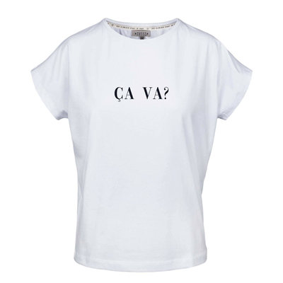 Zusss tof basic t-shirt ca va wit