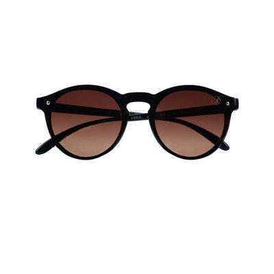 Zusss Hippe zonnebril Bruin