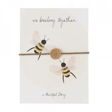 a Beautiful Story JP00034 - Sieraden ansichtkaart bijen