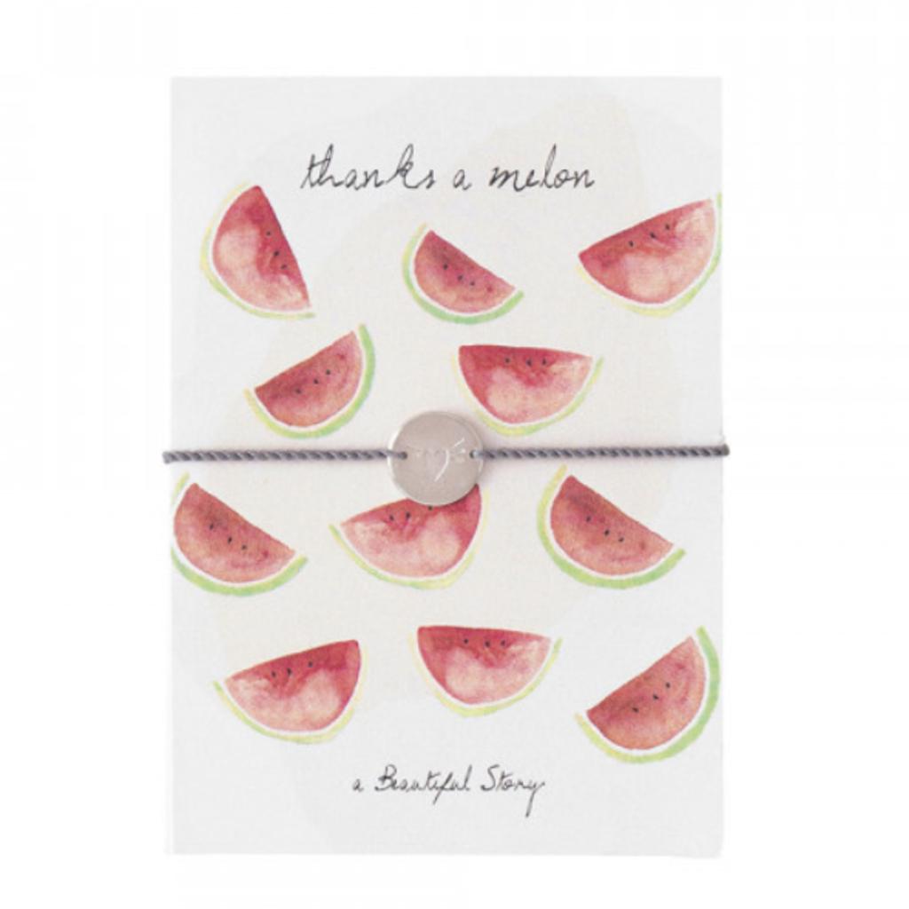 a Beautiful Story JP00036 - Sieraden ansichtkaart watermeloen