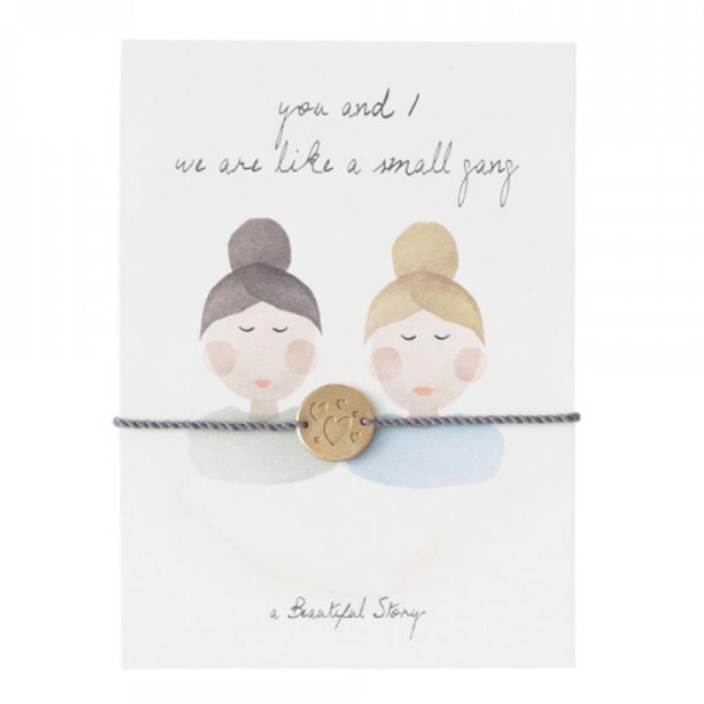a Beautiful Story JP00043 - Sieraden ansichtkaart vriendinnen