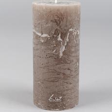 Luz Your Senses Cilinderkaars ø7xH15cm, Taupe