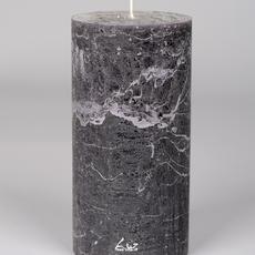 Luz Your Senses Cilinderkaars ø10xH20cm, Beluga grijs