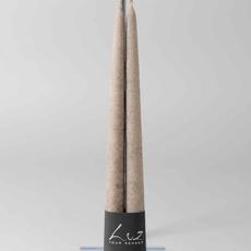 Luz Your Senses Tafelkaars, velours ø2.2xH30cm Taupe